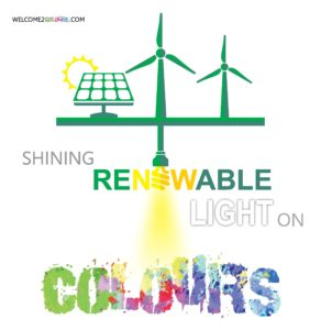 Shining a renewable light on colours
